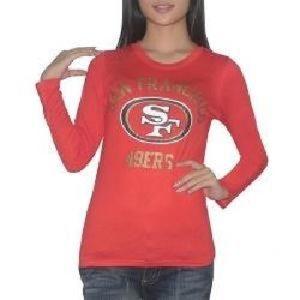 VS Pink 49ers football long sleeve t shirt